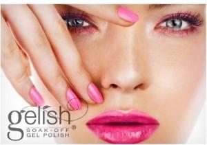 Soak off gel nail polish